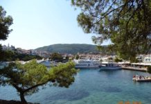 Greece view from Skiathos island