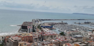 Alicante - view from the castle